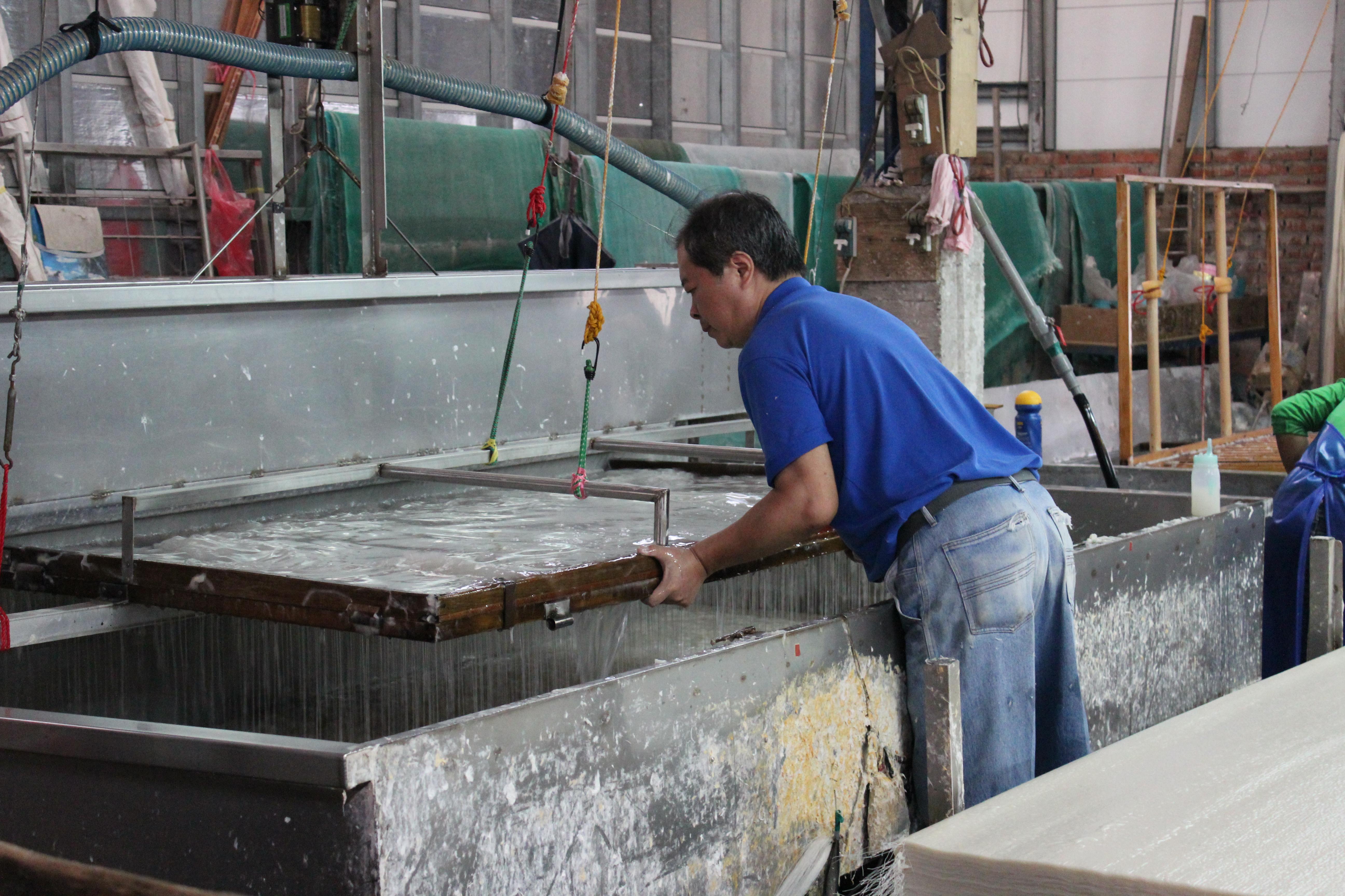 Making Paper at Guangsing