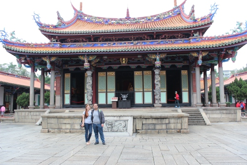 Confucius temple Taipei, Taiwan