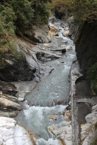 Wenshan Hot Spring viewed from above