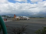 Small plane on Taitung Airport