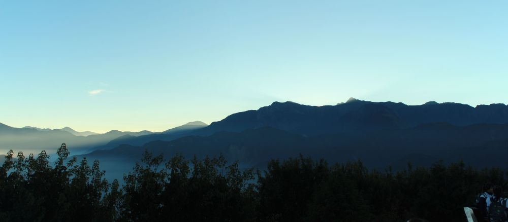 before sunrise Alishan