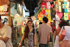 In the nightmarket, Taichung