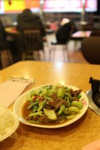 Dinner in Alishan