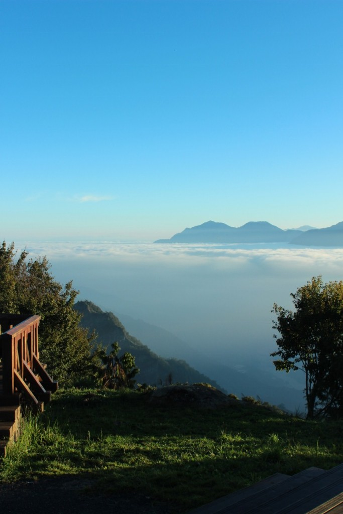 Sea of clouds Alishan Taiwan