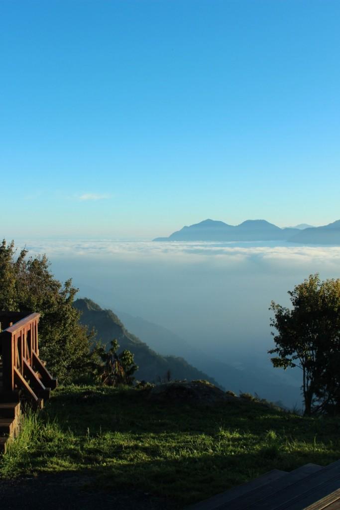 Sea of clouds Alishan Taiwan