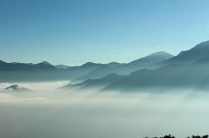 Sea of clouds Alishan