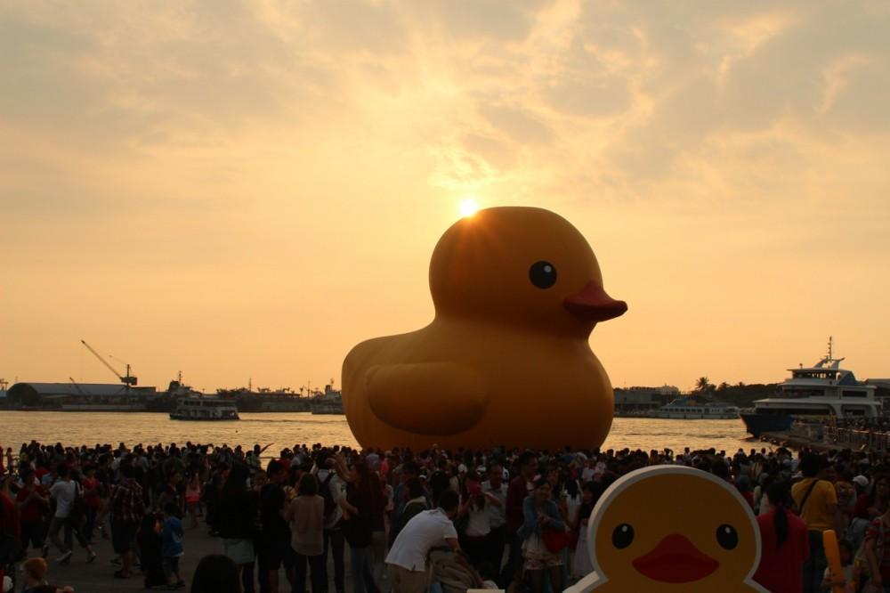 Yellow Duck Kaohsiung Sun
