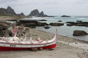 Traditional boat on Lanyu