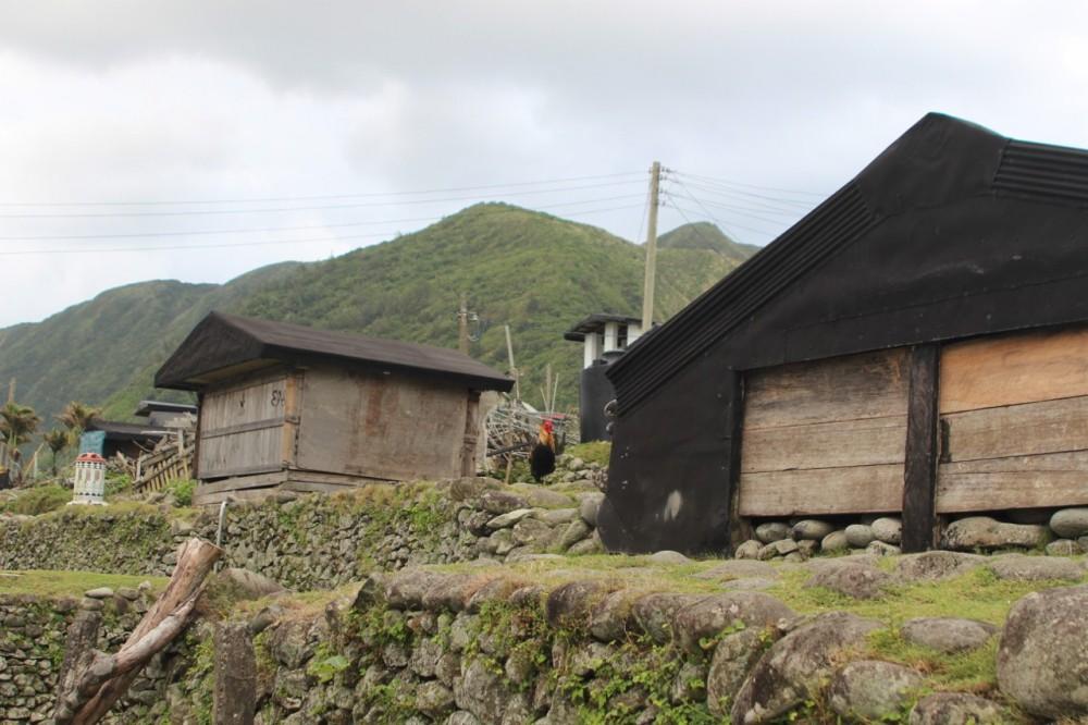 Traditional underground housing on Lanyu