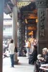 Praying at Longshan Temple