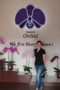 Me at Taisuco Orchid