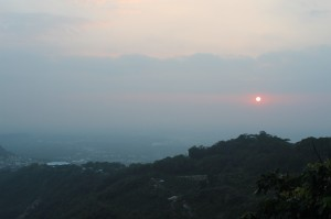 Sunset mountainview