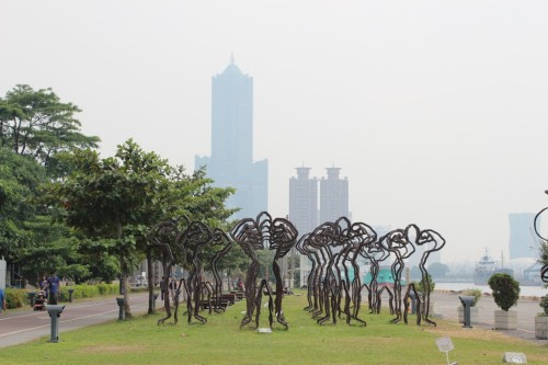 pier 2 view on kaohsiung