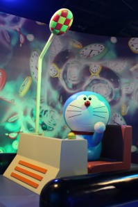 Doraemon in his time machine