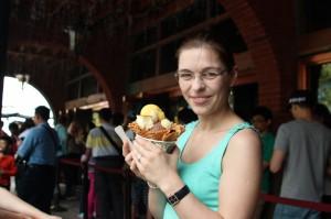 Me with Ice cream Dawncake