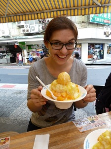 Mango shaved ice Taipei