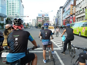 Cycling in Taipei