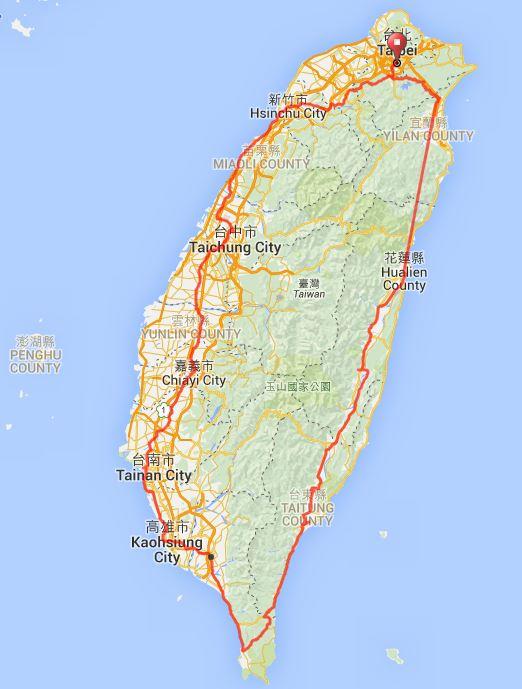 Formosa900_Route gesamt